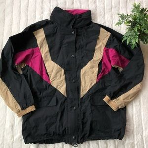 Urban Outfitters 90s Colorblock Anorak Windbreaker